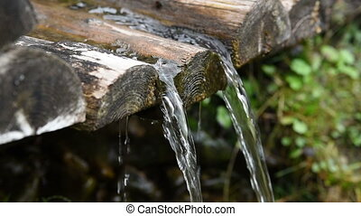 Clean Water Mountain Spring - Clean water spring mountain...