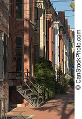 Townhouse Neighborhood in Frederick - Old Brick Residential...