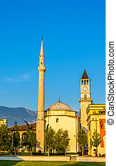 The Ethem Bey Mosque in Tirana - Albania