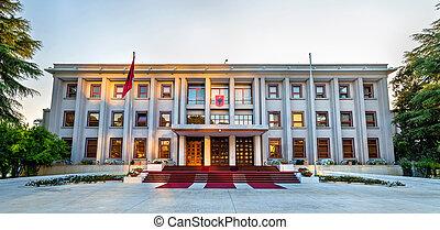 The Presidential Palace of Tirana - Albania