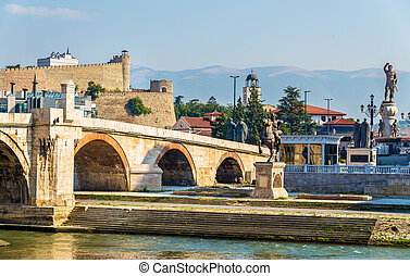 The Stone Bridge and associated monuments in Skopje -...