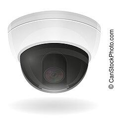 surveillance cameras illustration