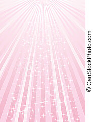 Pink background with stars - Abstract pink background with...
