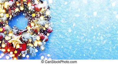 arte, Natal, fundo