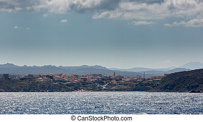 Santa Teresa Gallura in norther Sardinia - The town of Santa...