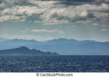 Coastline of Sardinia near Sant Teresa Gallura - The...