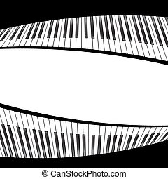 black and white piano template - piano template, music...
