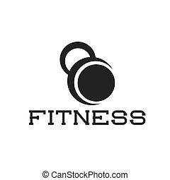 kettlebell fitness illustration