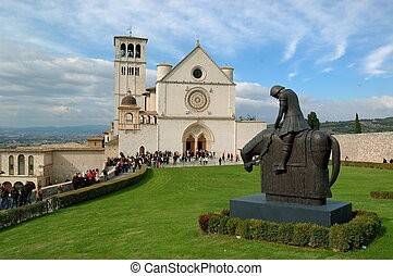 San Francesco d\'Assisi - Basilica St francis in Assisi,...