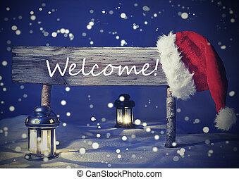 Candlelight, señal, vendimia, vacaciones, navidad, tarjeta,...