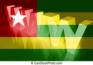 Flag of Togo www internet - Flag of Togo, national country...