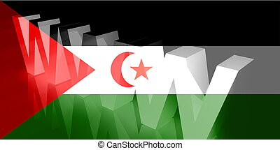 Flag of Western Sahara www internet - Flag of Western...