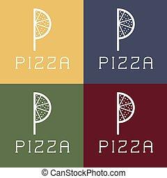 pizza monogram