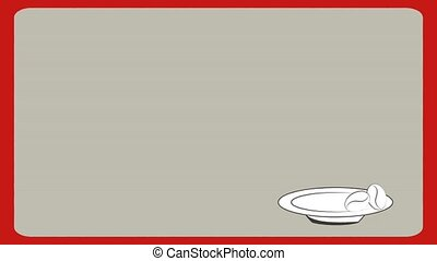 Coffee Icon, Video Animation - Coffee bean and mug with...