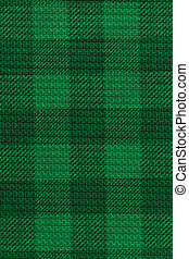 Green plaid texture background