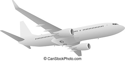 Passenger Jet Airliner - Sharp looking jet airliner...