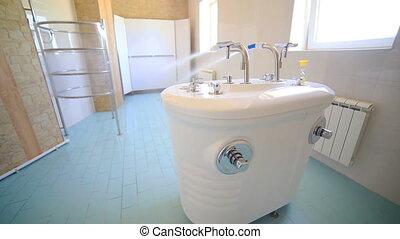 SPA procedure water massage douche shower