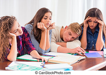 Group of people students