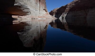 Lost Eden Lake Powell - The end of Lost Eden Canyon