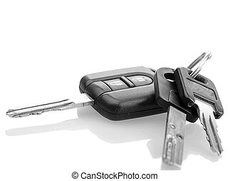 Car Keys - Car Key, Mul-T-Lock, Thule trunk keys With shadow...