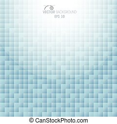 Abstract geometric background of colored squares, banner.
