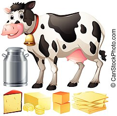 Cow and other dairy produtcs