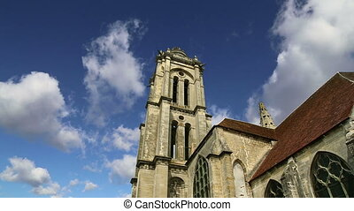 Cathedral Notre Dame of Senlis, Oise, Picardy, France