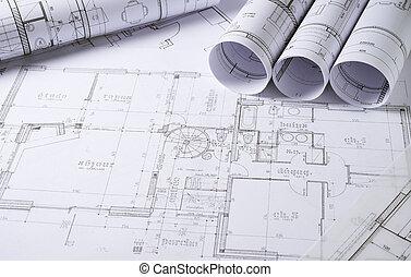 arkitektur, Planer