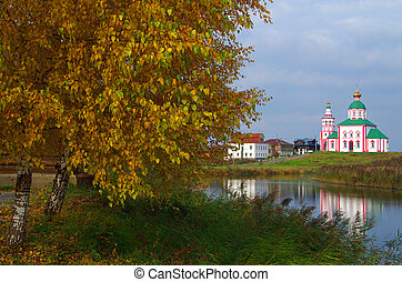 Christianity church of St Elias in Russia, Suzdal - SUZDAL,...