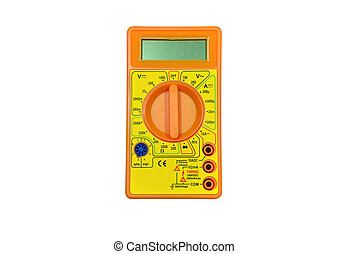 Multimeter - Digital electronic measuring instrument...