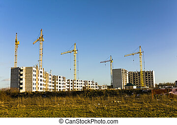 construction of residential buildings
