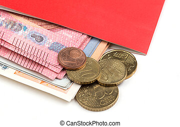 saving bank passbook Financial Planning with money