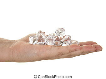 handful of diamonds