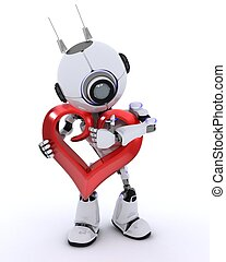 Robot with Heart
