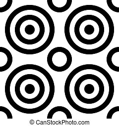 Seamless Concentric Pattern - Abstract Seamless Concentric...