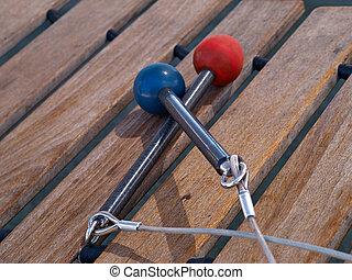 xilofone,  mallets