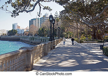 Cadiz Park - Cadiz province in Spain: the coastal walk...