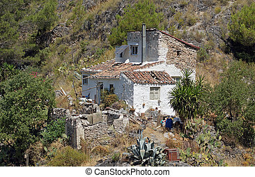 Cortijo - Andalucia in Spain: a rustic cortijo near the...