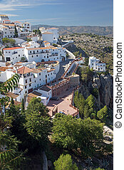 Camares - Andalucia in Spain: the pretty peublo blanco of...