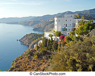 Cerro Gordo - Andalucia in Spain: the coastline at Cerro...