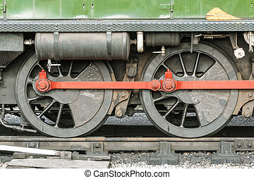 locomotora, ruedas,