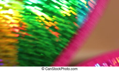 blurry colorful with fan - blurry colorful background with...