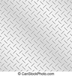 Chequer Plate Metal Background - Metal diamond chequer...