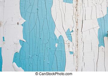 Cracked white background close up