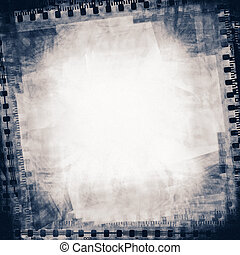 film background - grunge collage of film strips, may use as...