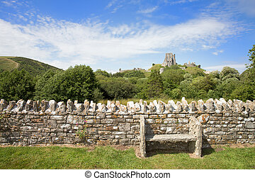 Corfe Seat - A welcoming seat in the village of Corfe,...