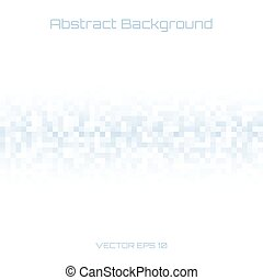 Abstract Light Blue Gray Pixel Technology Cover Background,...
