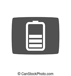 Vector Key Icon, gray icon