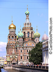 Church of the Savior on Blood - very famous landmark in...