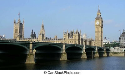 big ben in london and houses of parliament